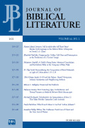 Journal of Biblical Literature cover