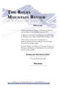 Rocky Mountain Review of Language and Literature
