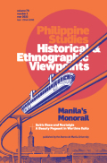 Philippine Studies: Historical and Ethnographic Viewpoints