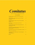 Comitatus: A Journal of Medieval and Renaissance Studies