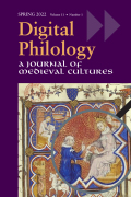 Digital Philology: A Journal of Medieval Cultures
