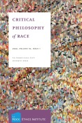 Critical Philosophy of Race