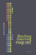 Teaching and Learning Inquiry: The ISSOTL Journal