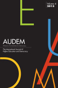 AUDEM: The International Journal of Higher Education and Democracy