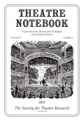 Theatre Notebook