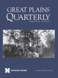 Great Plains Quarterly