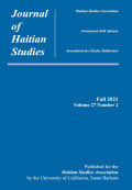 Journal of Haitian Studies