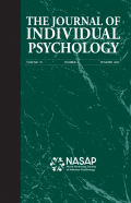 The Journal of Individual Psychology