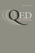 QED: A Journal in GLBTQ Worldmaking