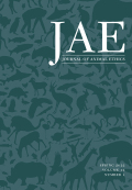 Journal of Animal Ethics