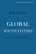 Journal of Global South Studies cover