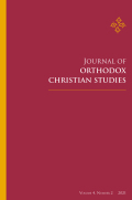 Journal of Orthodox Christian Studies