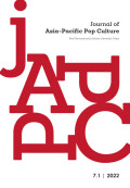Journal of Asia-Pacific Pop Culture cover