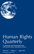 Millennium Development Goal 8: Indicators for International Human Rights Obligations?