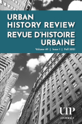 Urban History Review