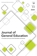 The Journal of General Education cover