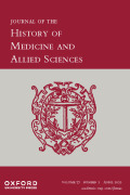 Journal of the History of Medicine and Allied Sciences