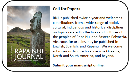 Rapa Nui Journal Call for Papers