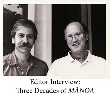 Editor Interview: Three Decades of MĀNOA