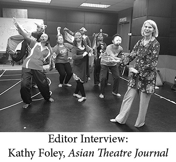 ATJ Editor Interview Kathy Foley