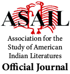 Official journal of the Association for the Study of American Indian Literatures