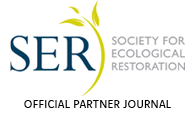 An official partner journal of the Society for Ecological Restoration (SER)