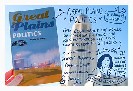 Link to purchase book Great Plains Politics