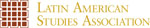Latin American Studies Association colophon