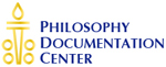 Philosophy Documentation Center colophon